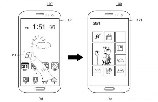 samsung patents dual