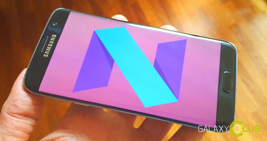 Galaxy S7 Android 7.1
