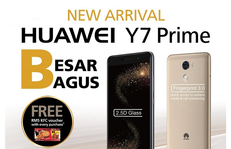 2c2aed7c757 Huawei has earlier unveiled their new mid-range smartphone – the Y7 Prime  on Hong Kong market early June this year. It is marketed for the consumer  who seek ...