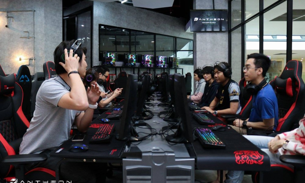 The Pantheon - Malaysia leading cyber-cafe launched with GeForce GTX