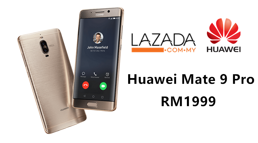 more photos baf0a dd58e Huawei Mate 9 Pro can now be grabbed for just RM1999! - Zing Gadget