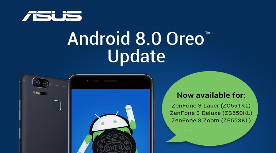 ASUS Malaysia brings Android 8 update for ZenFone 3, Deluxe and Zoom