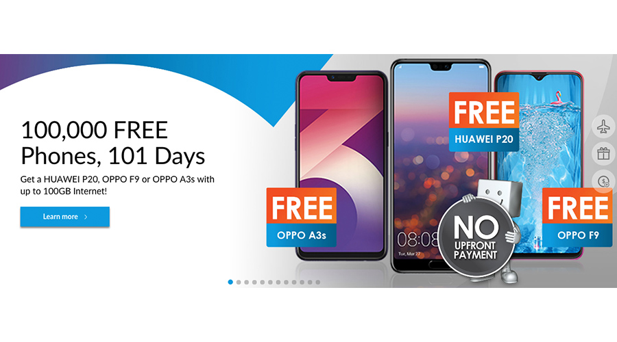 Celcom is now giving away Huawei P20 & 100,000 phones for