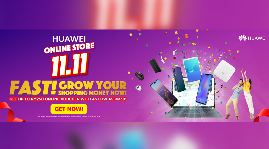 Huawei 11 11 online deal is here till 10th November - Zing