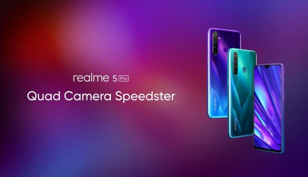 Realme 5 series launched in India: SD712, 48MP quad camera